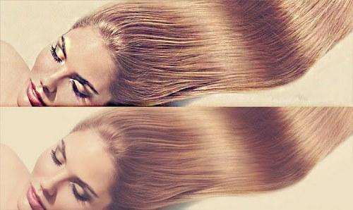 آبرسانی به موهای آسیب دیده